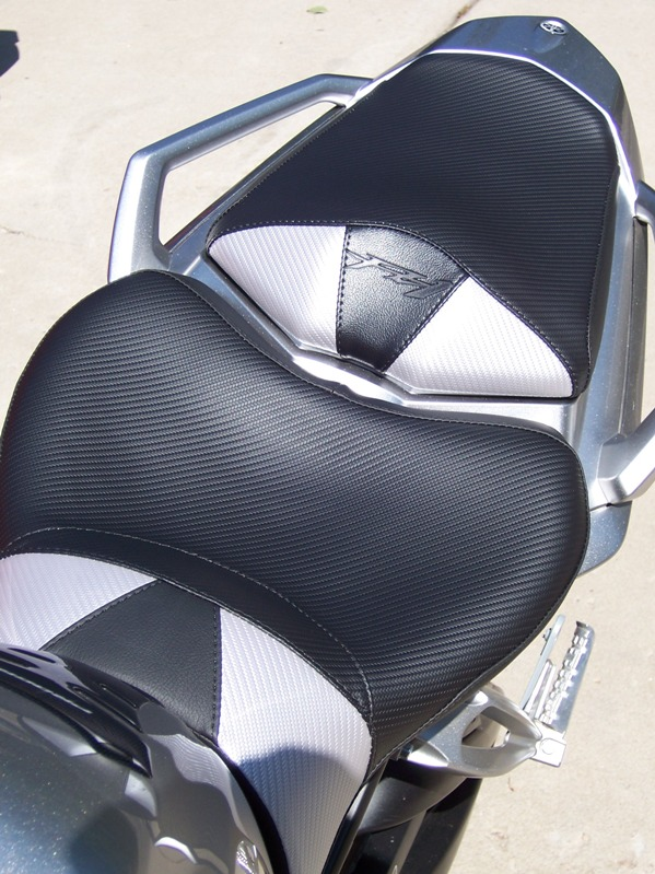 how to make stock motorcycle seat more comfortable