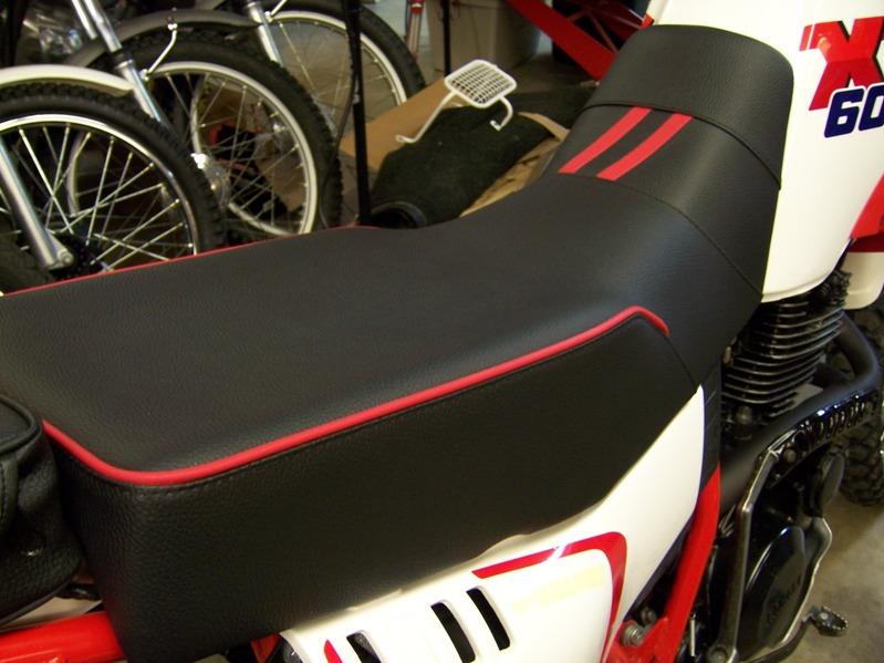 Steve Gowing Custom Motorcyle Seats Dual Purpose